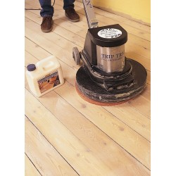 Kit Saving: DC017 (a) Woca Softwood Lye & Woca Master Colour Oil white floor, Work with buffing machine 0 to 20m2  (DC)