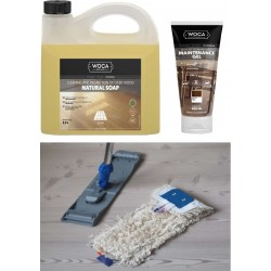 Kit Saving: DC051 Clean oiled floor natural, dark & black (E7 MA, V), starter  (DC)