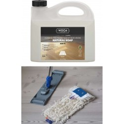 Kit Saving: DC052 Clean white oiled floors (E7 MA, V), starter  (DC)