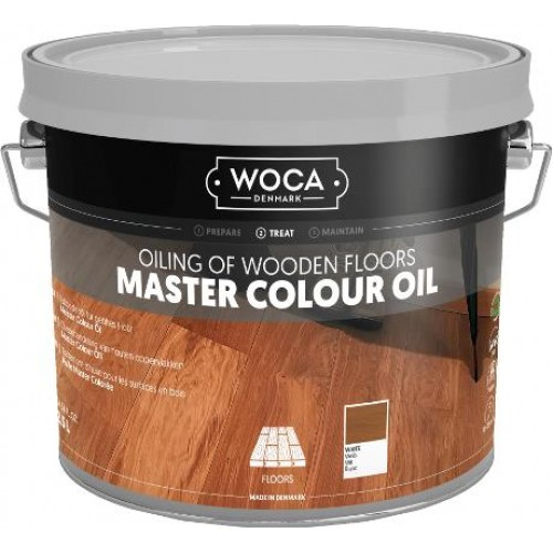 Woca Master Colour Oil white 2.5ltr 522573AA  (DC)