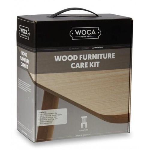 Woca Furniture Care Kit (Maintenance Box), Natural oil variants, 699933-AN (DC)
