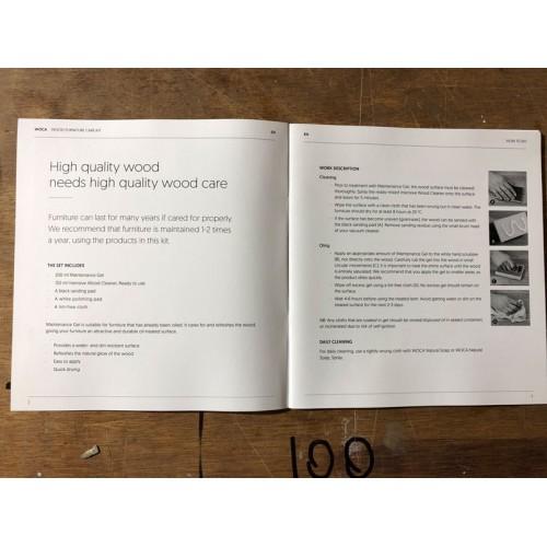 Woca Furniture Care Kit (Maintenance Box), White variants, DC conversion (DC)