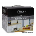 Woca Worktop Oiling Box Kit, White 699975AW  (DC)