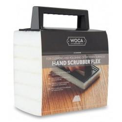 Woca Hand Scrubber polishing pad (Flex Kit white) with Handle 599724AA (DC)
