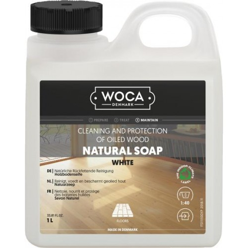Woca Natural Soap White 1L 511110AA  (DC)